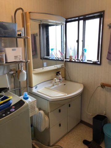 洗面室リフォーム 姫路