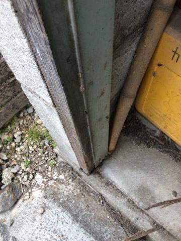 ドア交換 LIXILロンカラー
