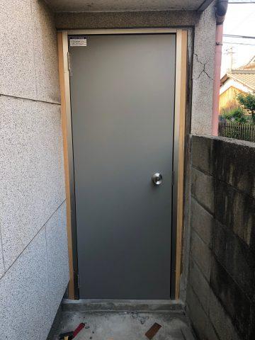ロンカラーフラッシュドア 姫路 施工例