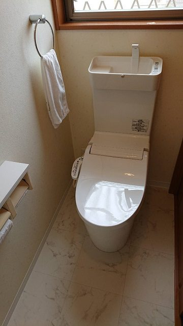 赤穂市 清潔感のあるトイレに!
