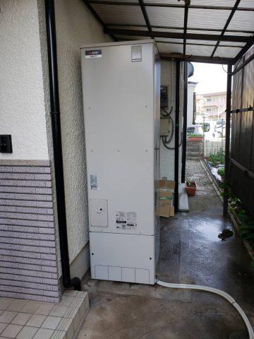 加古川市 電気温水器からエコキュートへ取替え