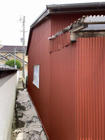 トタン壁塗装