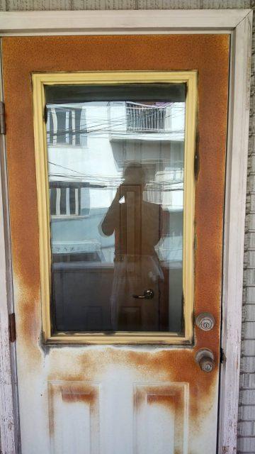 姫路市 ドア塗装工事