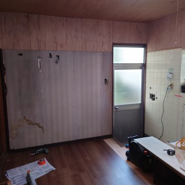 姫路市 キッチン改修工事の流れ