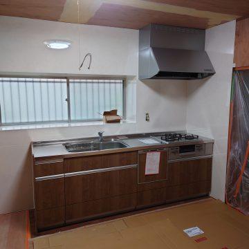 姫路市 キッチン改修工事の流れ(その2)