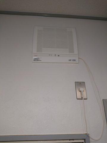 姫路市 熱交換機能付き換気扇の取替え