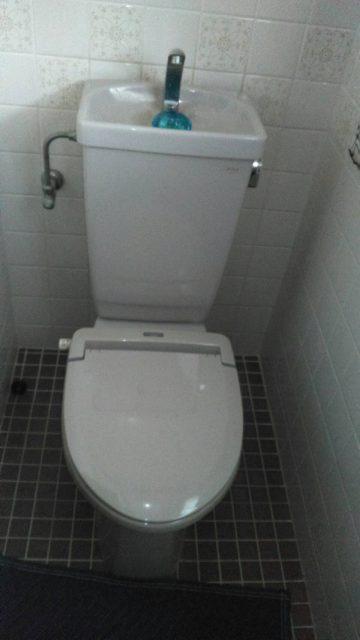 LIXILプレアスHSへトイレ取替工事