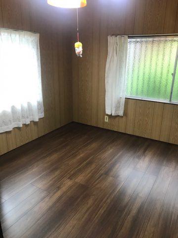 姫路市 床の張り替え工事