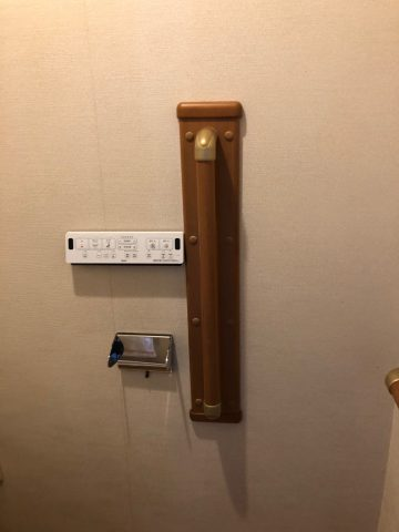 トイレリモコン取付