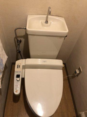 マンショントイレ工事