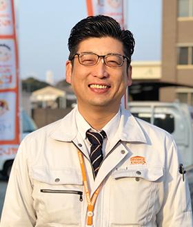 姫路市のリフォーム専門店オレンジナイトの上田