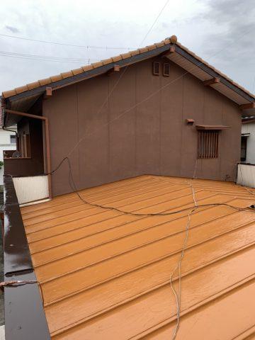 高砂市 瓦棒塗装工事