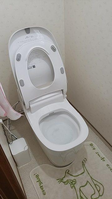 トイレを新しく!施工後