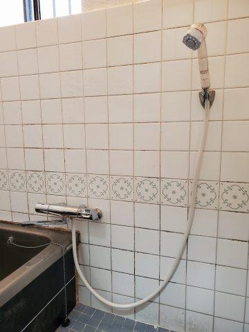 姫路市 シャワーバス水栓取替工事