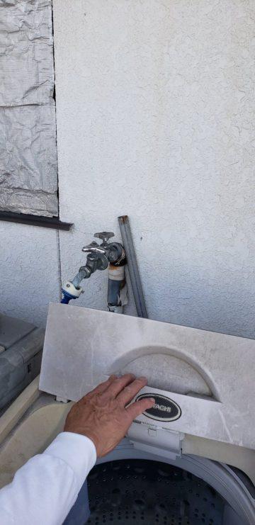 姫路市 水栓金具入替え