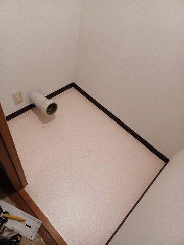 マンション床上排水トイレの交換