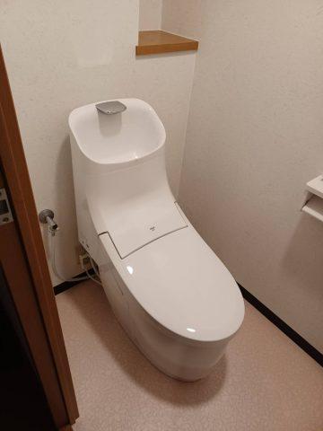 姫路市 マンション床上排水トイレリフォーム