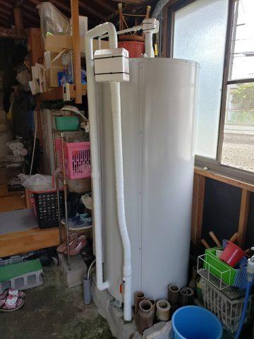 電気温水器取替工事 施工後