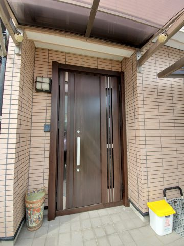 姫路市 玄関ドア取替工事