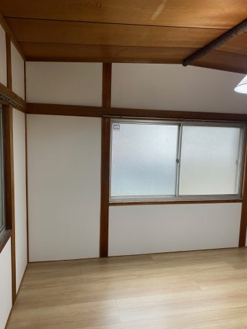姫路市 空き部屋の床 壁の工事