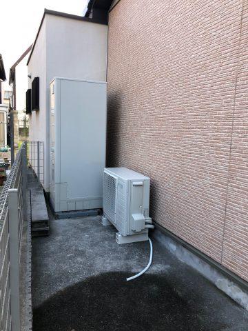 姫路市 電気温水器からエコキュートへ取替
