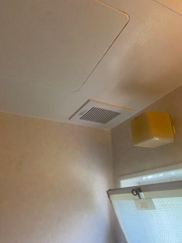 太子町 浴室換気扇取替工事