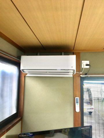 姫路市 ダイキンエアコン(うるさらX、RXシリーズ)への取替工事