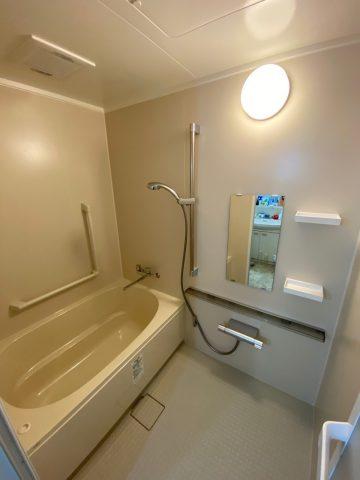 姫路市飾磨区のマンションでお風呂の入替工事をしました!