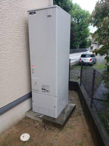 姫路市 電気温水器からエコキュートへの取替