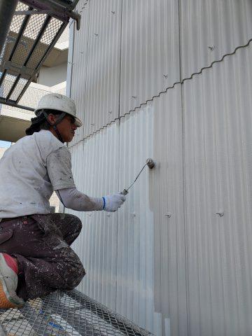 姫路市 倉庫外壁塗装工事