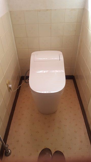 赤穂市 トイレの取替