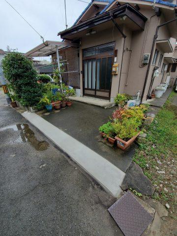 姫路市 土間改修工事