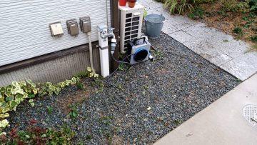 姫路市 散水栓から立水栓へ!