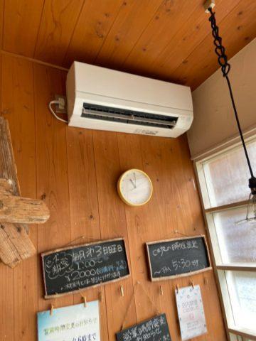姫路市 エアコン取替工事