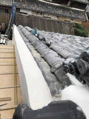 たつの市 屋根漆喰工事