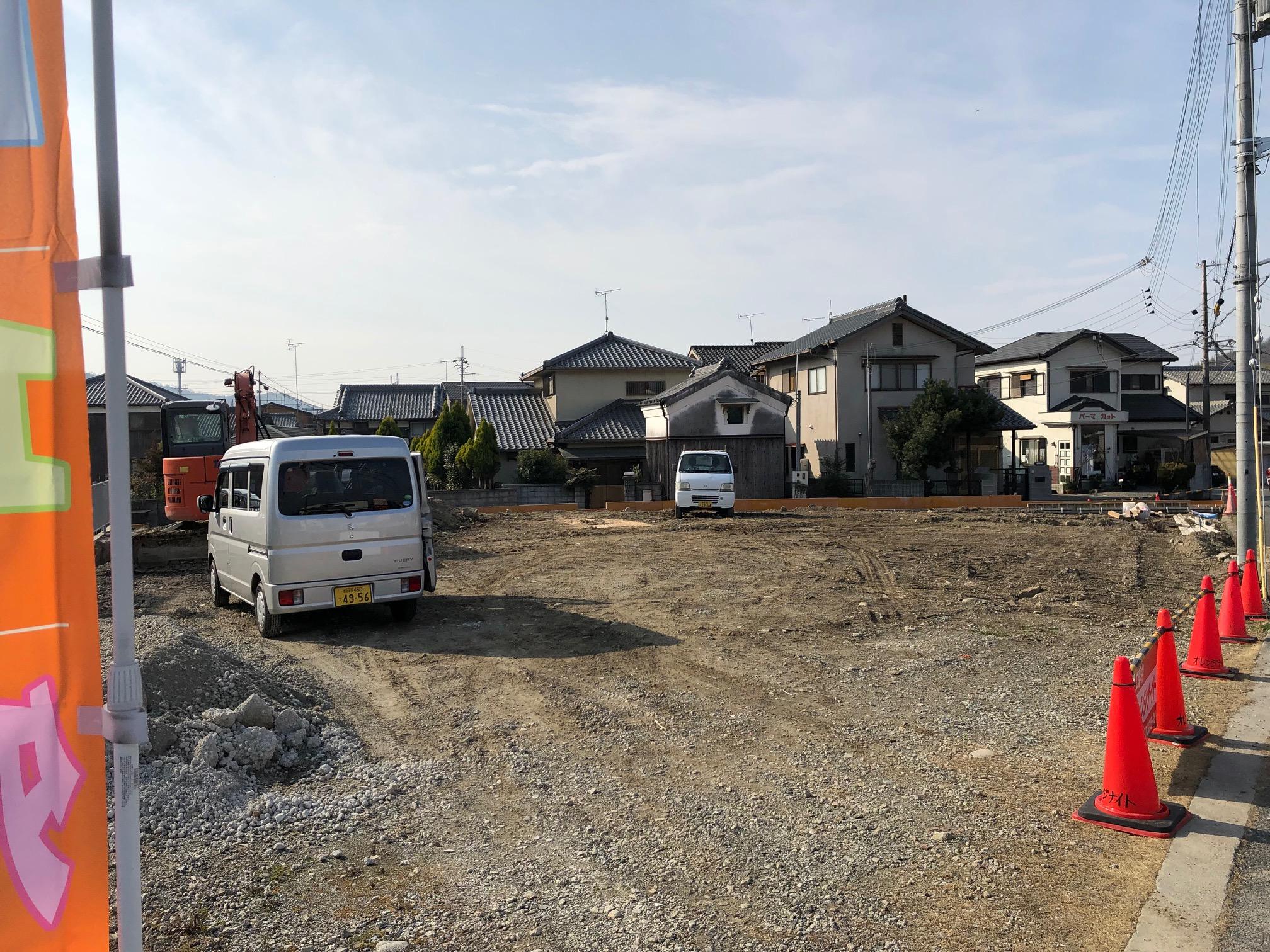 5月OPEN 太子店の工事現況